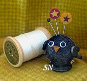 Bobbi Blackbird from Just Another Button Company - click to see more