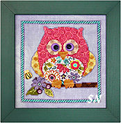 Curious Owl from Just Another Button Company - click to see more