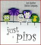 JABCO Just Pins jp108 Monsters Set - click to see a larger view