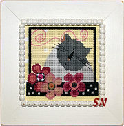 Val's Blooming Kitty from Just Another Button Company - click to see more