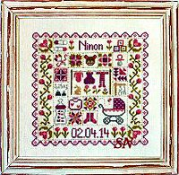 Patchwork Baby from Jardin Prive - click for more