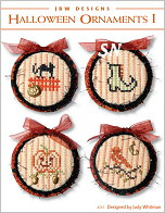 261 Halloween Ornaments I from JBW Designs - click to see more