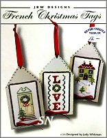 French Christmas Tags #386 from JBW Designs - click to see more