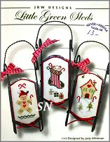 Little Green Sleds #388 from JBW Designs - click to see more