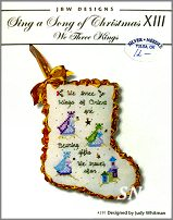 Sing a Song of Christmas XIII 3 Kings #391 from JBW Designs - click to see more