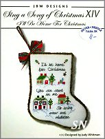 Sing a Song of Christmas XIV I'll Be Home #392 from JBW Designs - click to see more