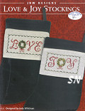 185 Love & Joy Stockings from JBW Designs - click to see more