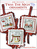 Twas the Night Ornaments from JBW Designs -- click to see more