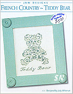 235 French Country Teddy Bear from JBW Designs -- click to see more
