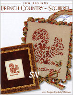 #244 French Country Squirrel from JBW Designs - click to see more