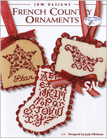 #245 French Country Ornaments from JBW Designs - click to see more