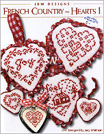 #248 French Country Hearts Collection ONE from JBW Designs - click to see more