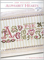 271 Alphabet Hearts from JBW Designs - click to see more
