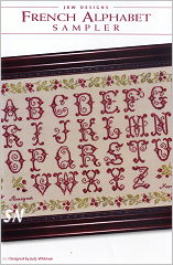 Antique French Alphabet from JBW Designs - click to see more