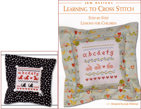 Learning to Cross Stitch from JBW Designs - click to see more