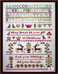 #312 Peace at Christmastide from JBW Designs
