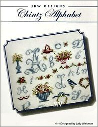 #394 Chintz Alphabet from JBW Designs - click to see more