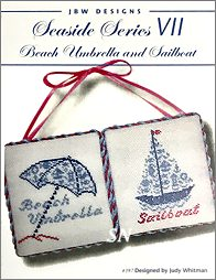 #397 Beach Umbrella and Sailboat from JBW Designs - click to see more