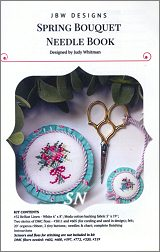 Spring Bouquet Needle Book from JBW Designs - click to see more