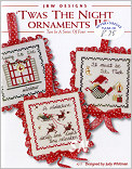 Twas the Night Ornaments II from JBW Designs -- click to see more