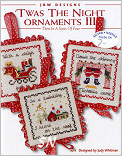 Twas the Night Ornaments III from JBW Designs -- click to see more
