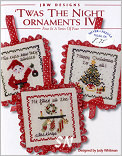 Twas the Night Ornaments IV from JBW Designs -- click to see more