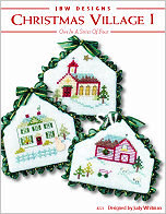 Christmas Village 1 from JBW Designs -- click to see more