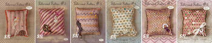Patterned Pretties #1 Through #6 by Jeannette Douglas -- click to see more