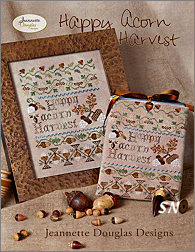 Happy Acorn Harvest by Jeannette Douglas -- click to see more