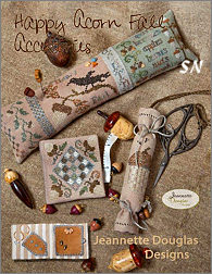 Happy Acorn Fall Accessories by Jeannette Douglas -- click to see more