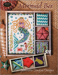 Mermaid Box by Jeannette Douglas -- click to see more
