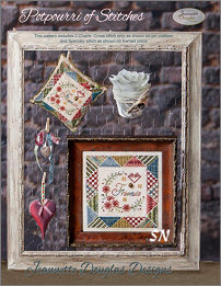 Potpourri of Stitches by Jeannette Douglas -- click to see more