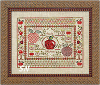 Apple Stitches by Jeannette Douglas -- click to see more