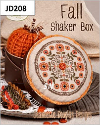 Fall Shaker Box by Jeannette Douglas -- click to see more
