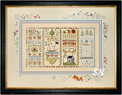 The Four Seasons Sampler by Jeannette Douglas -- click to see more