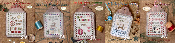 Jeannette's Gift Tags by Jeannette Douglas -- click to see more