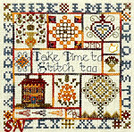 Take Time to Stitch Too! by Jeannette Douglas Designs -- click for more