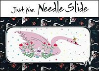 Swan Queen Needle Slide by Just Nan -- click to see more!