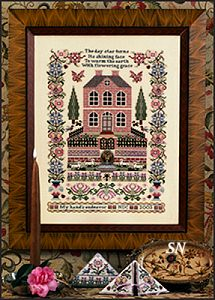 Silkwood Manor with Embellishments & Mini Slide from Just Nan - click for more