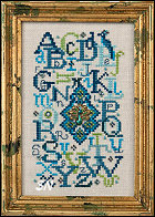 Peacock Alphabet from Just Nan - click for more