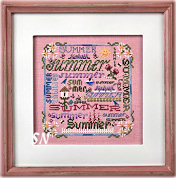 Summer Typography from Just Nan - click for more