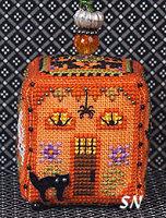 Witchy Pumpkin Cottage by Just Nan -- click to see more!