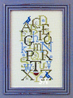 Bluebird Alphabet from Just Nan - click to see more