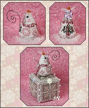 Crystal Snowlady Mouse from Just Nan - click for more