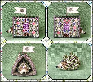 Heather's Hedgehog House - A Limited Edition to the Mouse-On-A-Roll Series from Just Nan - click for more