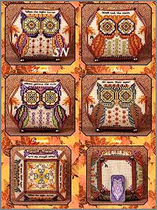 Owls of October II from Just Nan - click for more