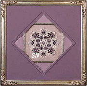 Amethyst Snowflake from Just Nan - click for more
