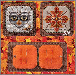 Bumble & Hoot Needle Book from Just Nan - click for more