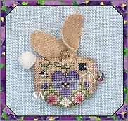 Pansy Bunny by Just Nan -- click to see more!