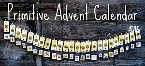 Primitive Advent Calendar from Nikyscreations - click for more